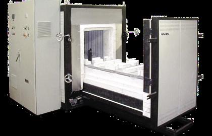 Камерная печь с выдвижным подом SNOL 590/1500